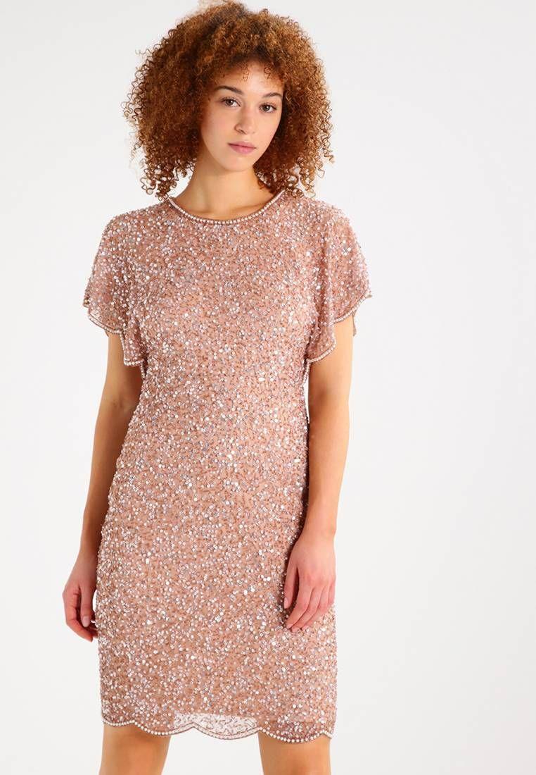 Adrianna Papell. Robe de soirée - rose gold. Composition:100% polyester.
