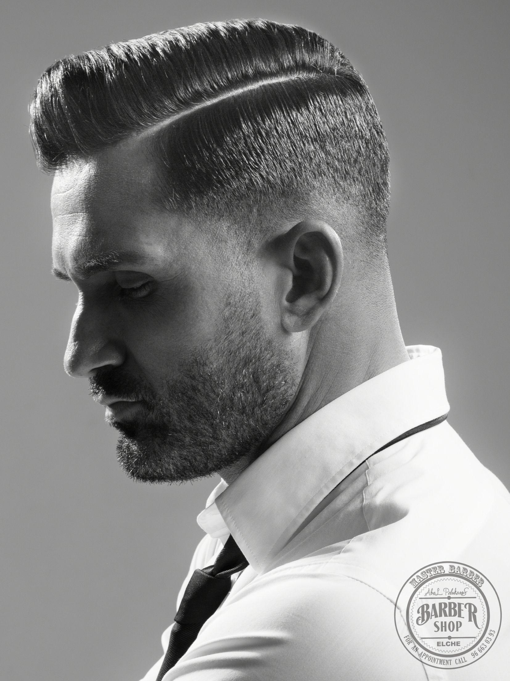Handsome Side Part Pose Barbershop Pinterest Handsome