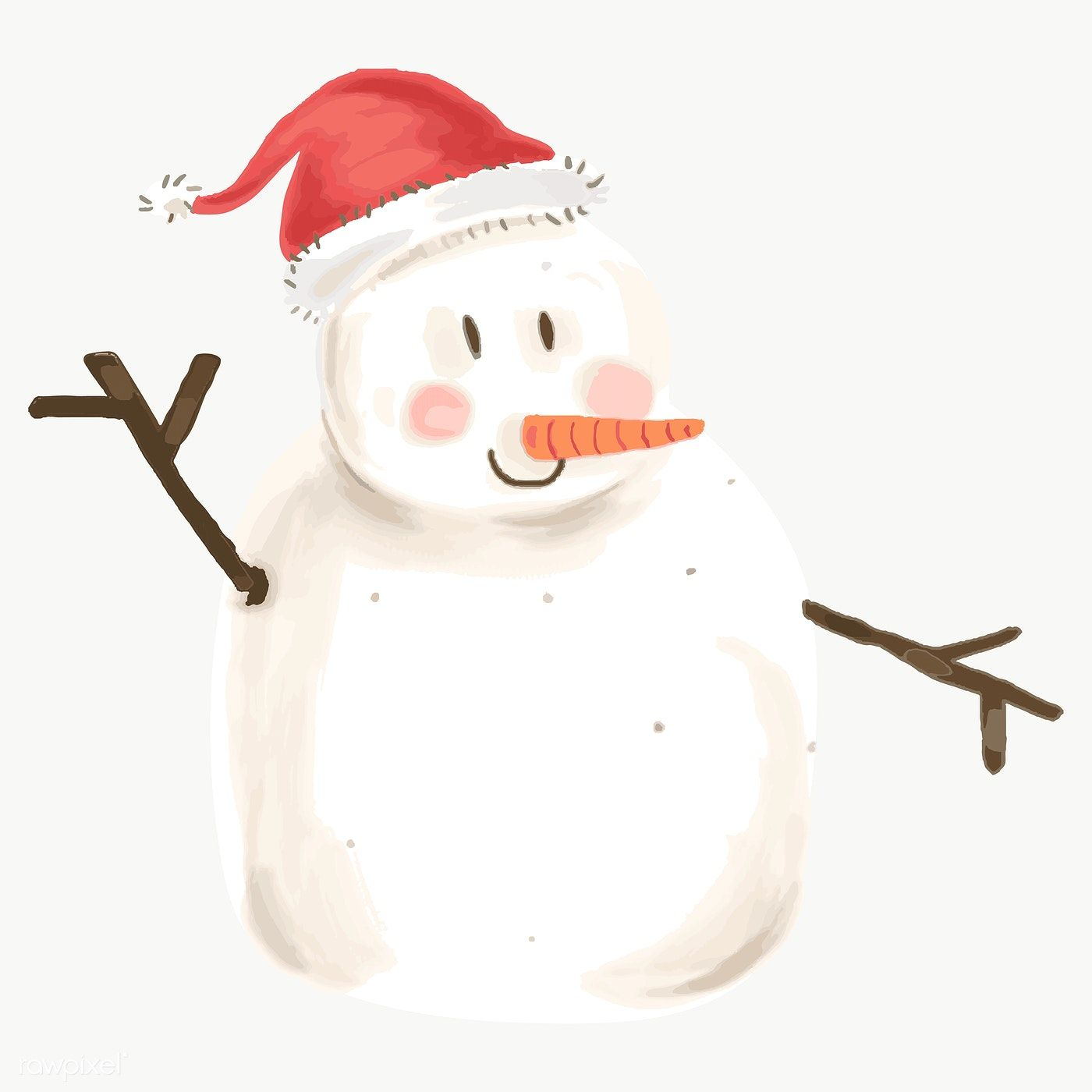 Download Premium Png Of Cute Snowman Christmas Element Transparent Png Cute Snowman Christmas Snowman Christmas Icons