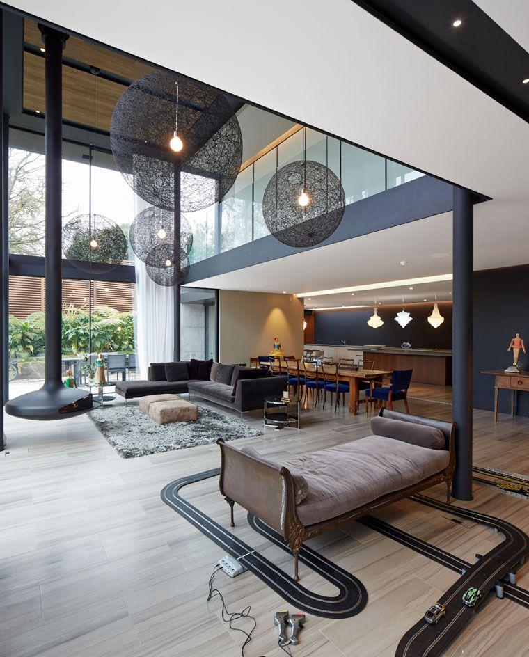 Stanton Williamsu0027 Private Residence On The Edge Of Londonu0027s Hampstead Heath  Provides A Breath Of Fresh Air Nice Ideas
