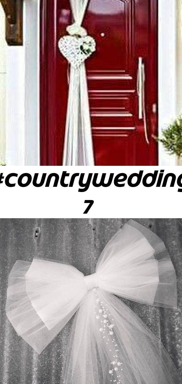 #countrywedding 7 #decorationeglise #CountryWedding Pew en tulle plus de 20 couleurs décor église Pew Pew en | Etsy ↗️ 85 Pretty Wedding Car Decorations Diy Ideas 6379 #weddingcarsdecor #wedding #decorationeglise