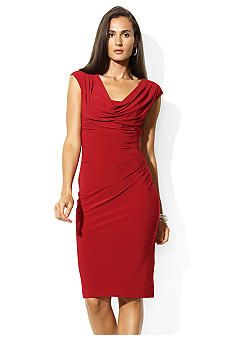 $130 at Macys. Ralph Lauren color is red lake. Both my sister and I tried this on and it was flattering on both bodies. I have coupons for registering there so I may be able to apply a discount.