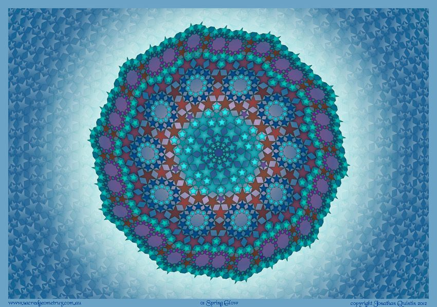 Sacred Geometry - The Art Of Jonathan Quintin - THE POWER OF MANDALAS