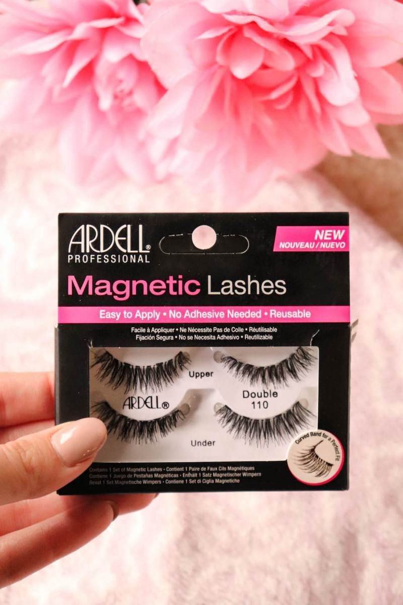 0123fafc56f How to Apply Ardell Magnetic Lashes | Make Me Up | Magnetic lashes ...