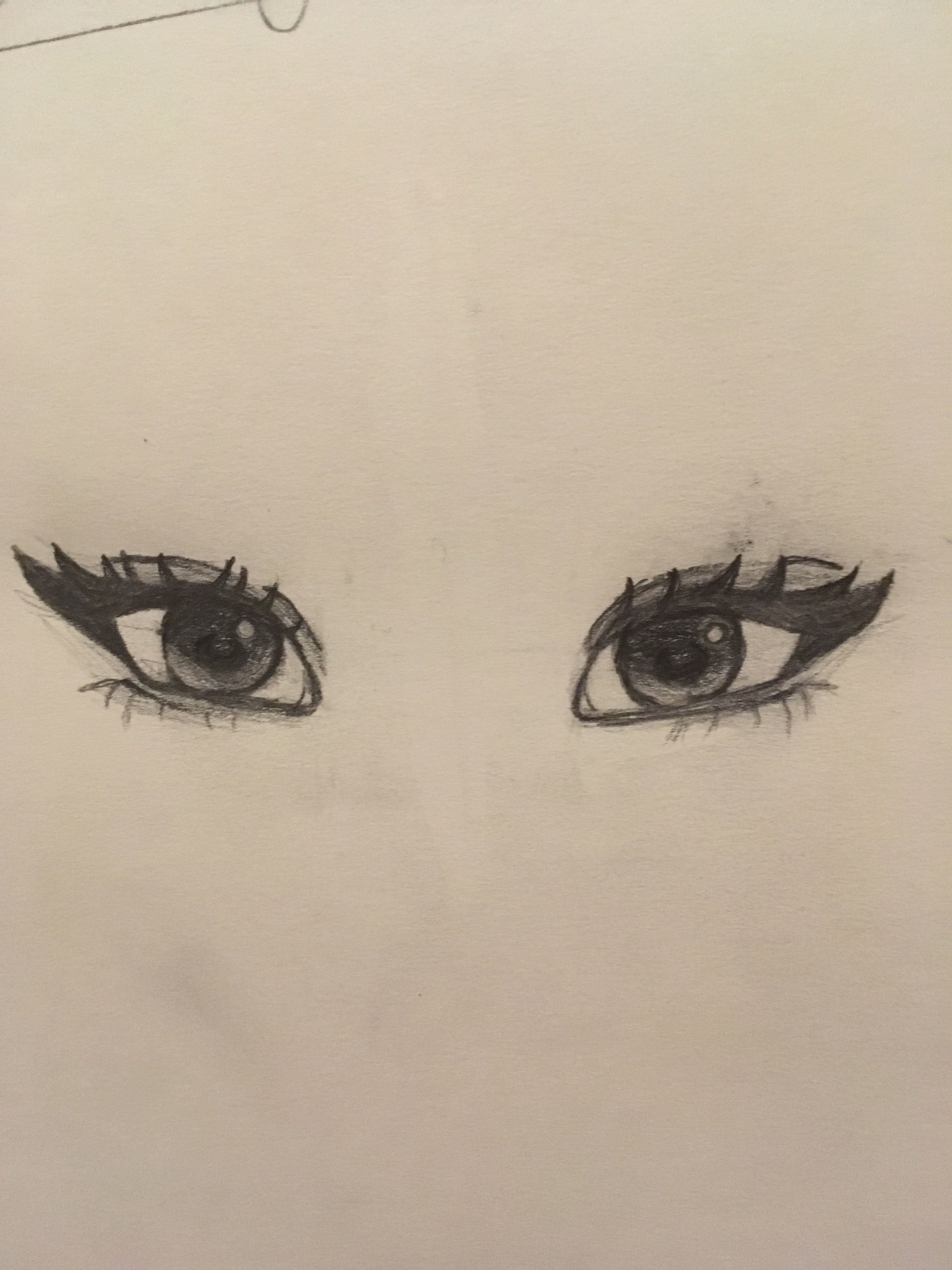 I Tried To Follow A Tutorial On Yt For Eyes And This Is The Result