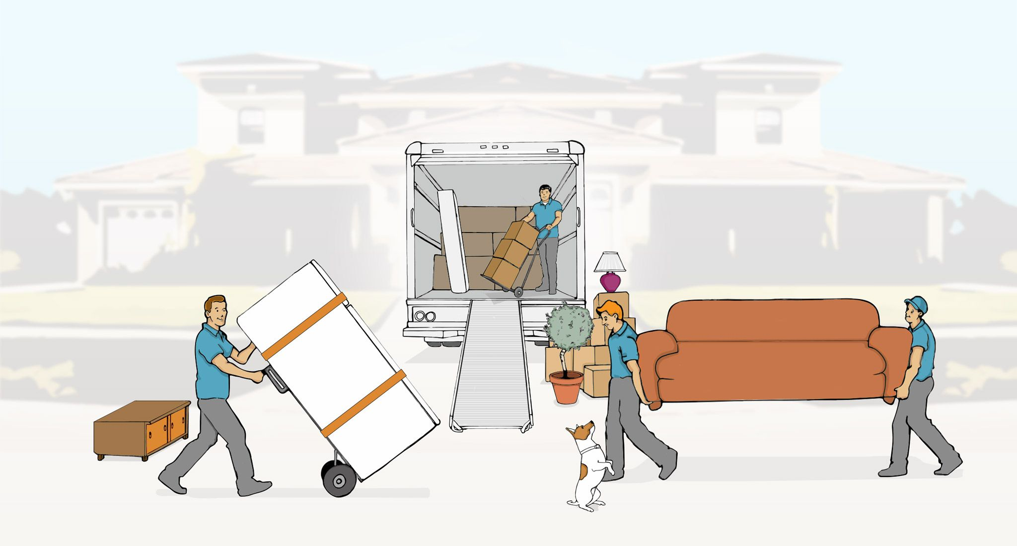 Hire movers by the hour