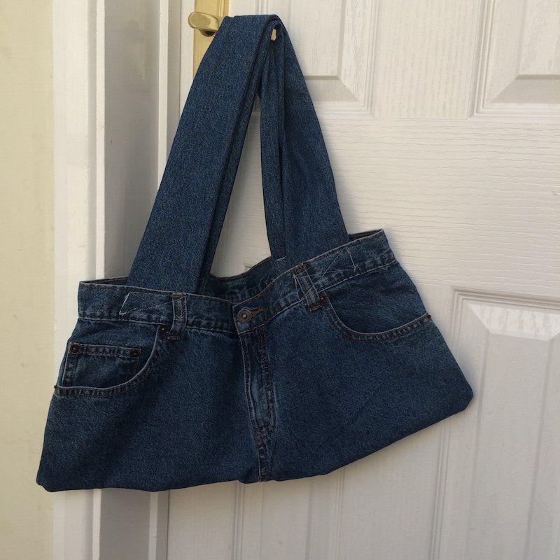 comment faire un sac en jean - patrons gratuits, tutos et idées de