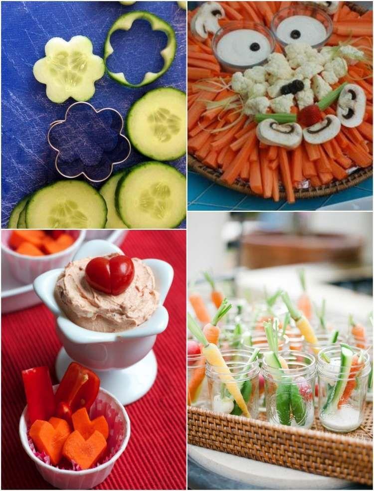 45 idées repas santé et amusant de légumes pour les ...