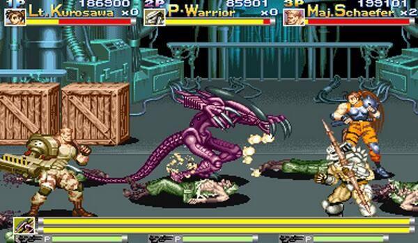 Ryan B On Twitter Alien Vs Predator Alien Vs Pixel Art