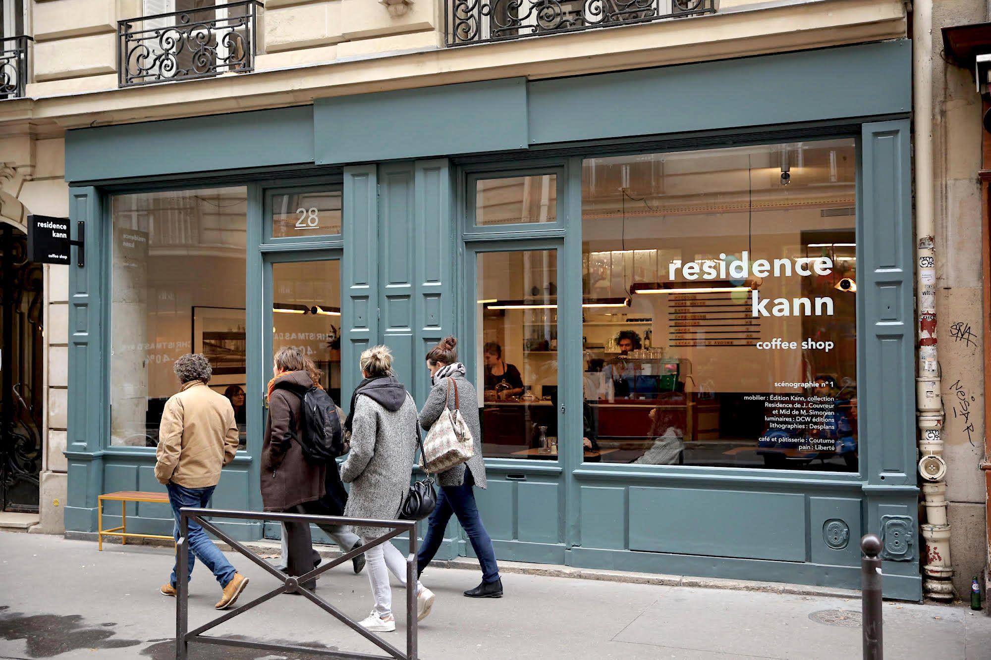 A designforward paris coffee shop residence kann paris