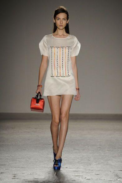 Sfilata Andrea Incontri #Milano - #Collezioni Primavera Estate 2014 - #Vogue #mfw #ss2014 #AndreaIncontri