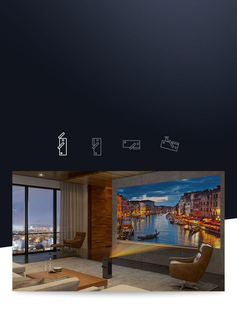 4K UHD Laser Smart Home Theater CineBeam Projector | Wish