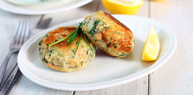 Salmon Fish Cake Recipe Jamie Oliver: Salmon Fishcakes