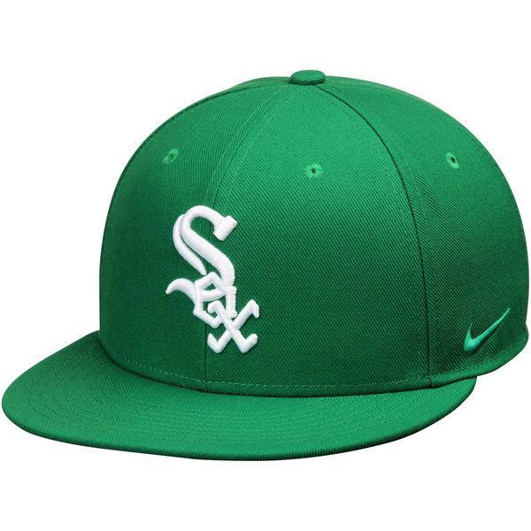 newest e0119 65c05 Chicago White Sox Nike St. Patrick s Day Practice Performance Snapback Adjustable  Hat - Green -  29.99