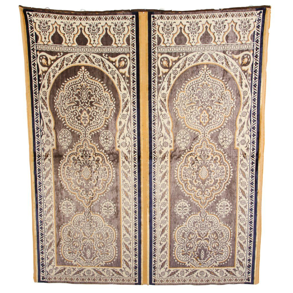 Moroccan Silk Wall Hanging Fabric Textile Tapestry Moorish