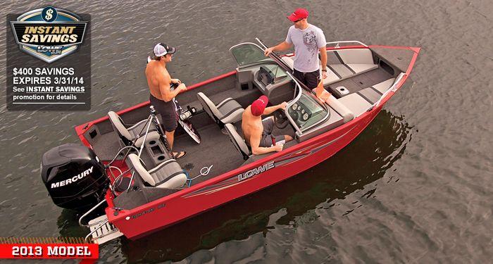 Fish Ski Fs165 Lowe Boat Lowe Boats Fish And Ski Boats Fishing Boats For Sale