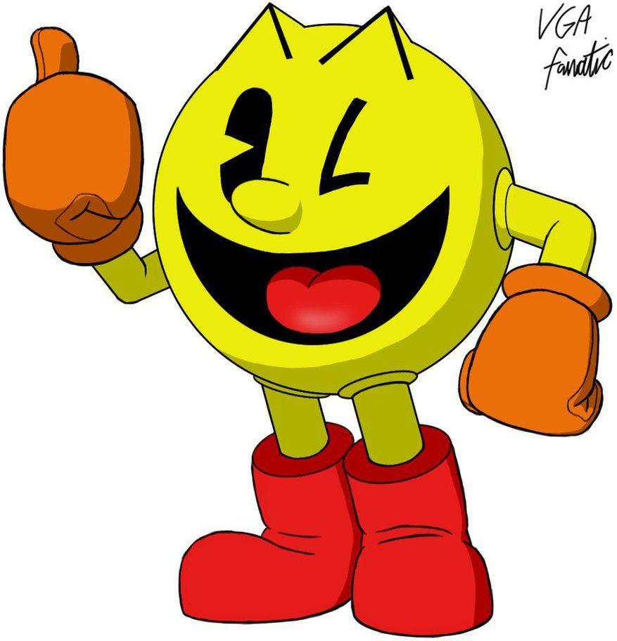 Pac-Man by VGAfanatic