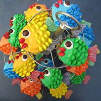 School of Fish Cupcakes by Christina