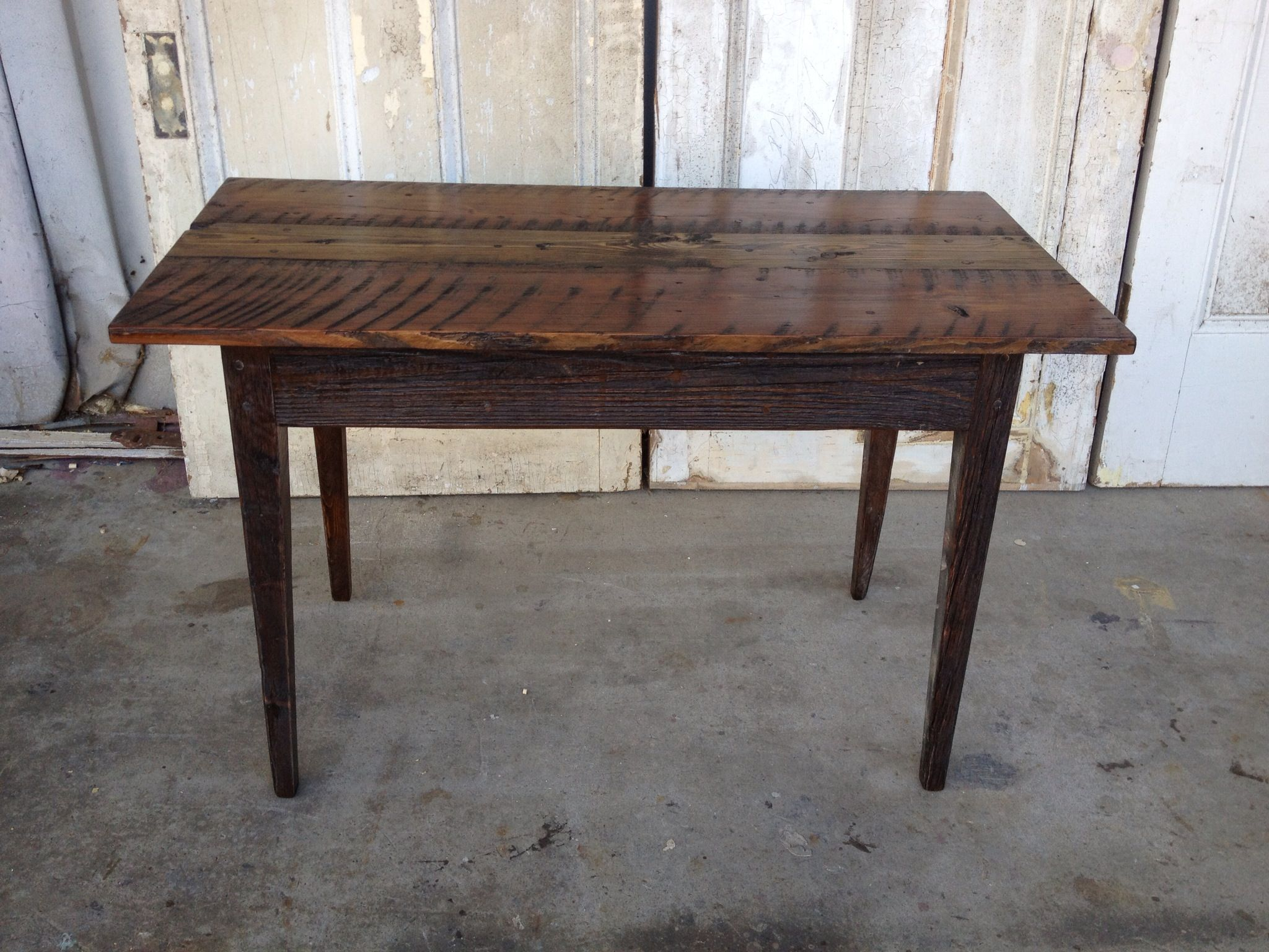 Made From Old Reclaimed Wood By Landrum Tables Http Www