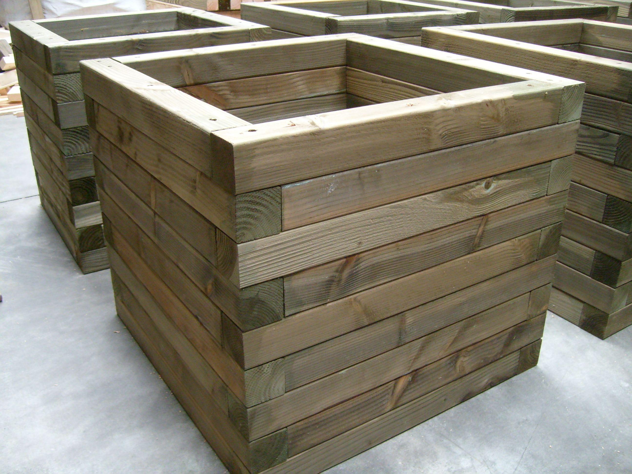 elegant image result for bloembakken hout buiten groot with buiten groot