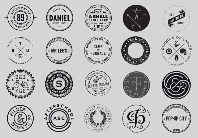 17 Best images about Hipster Design on Pinterest   Vintage labels ...