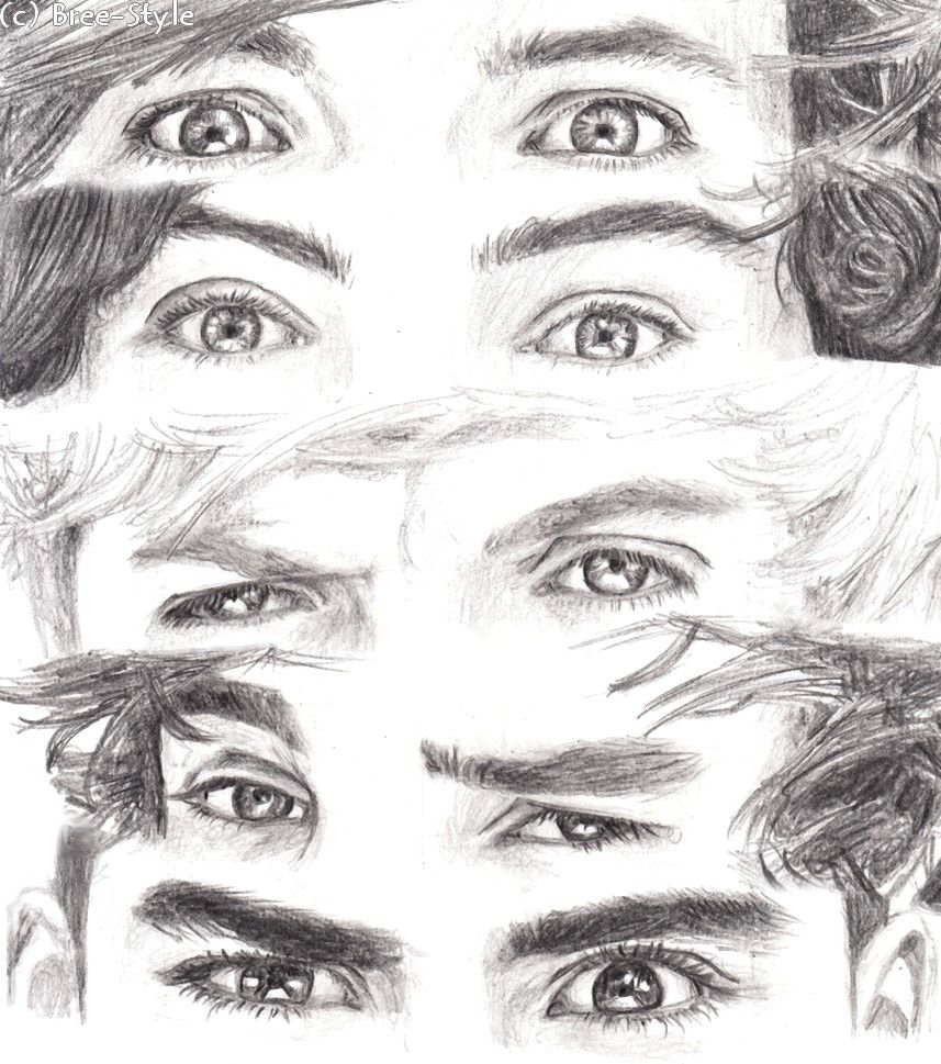 How To Draw One Direction S Eyes Dibujos De One Direction Harry Styles Dibujo Inspiración Dibujo En Lápiz