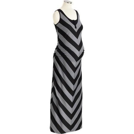 82871c3db8e19 Old Navy Maternity Chevron Striped Maxi Tank Dresses http://beso.ly ...