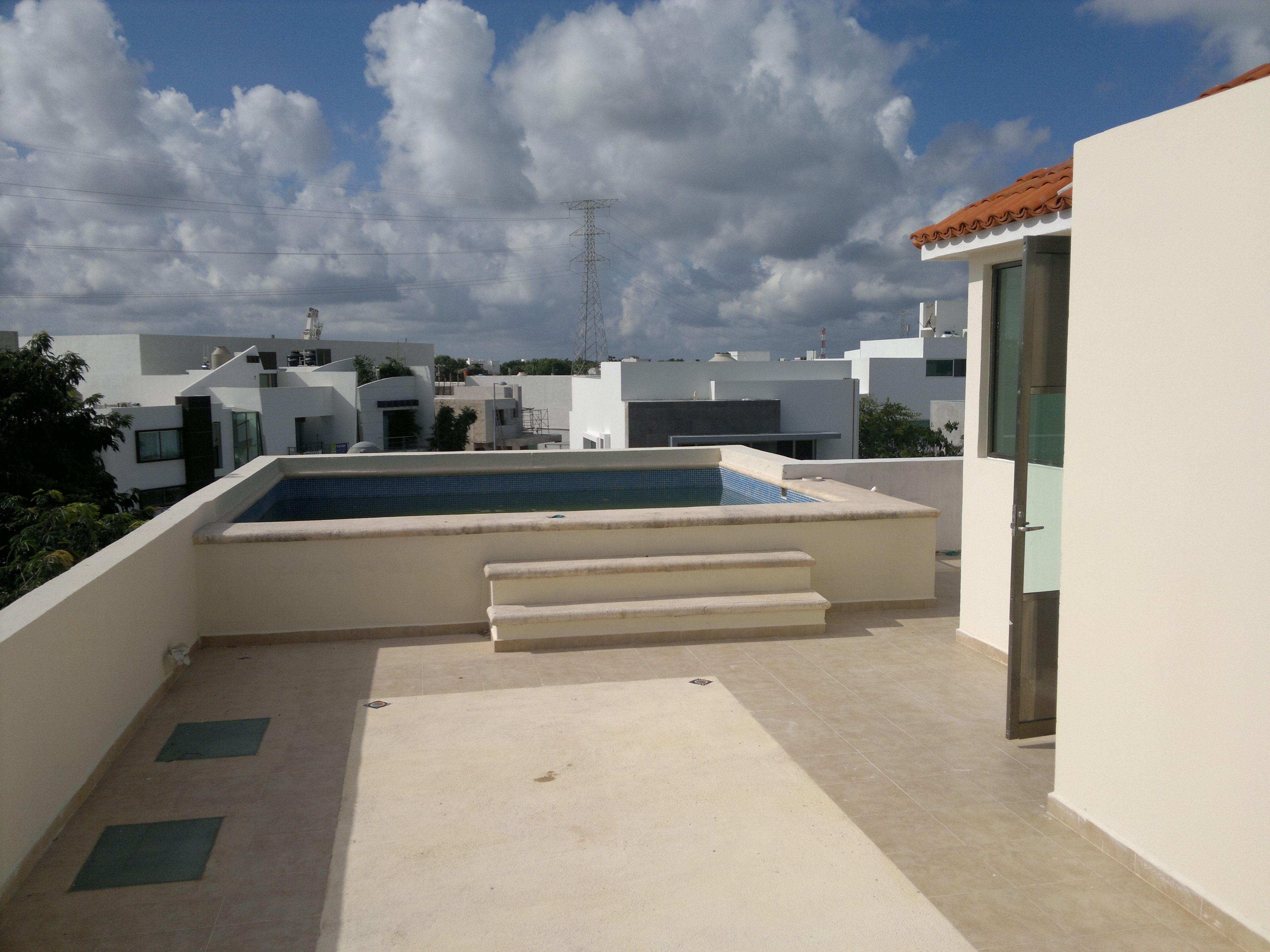 Casa en venta en residencial palmaris descripci n for Construir alberca en azotea