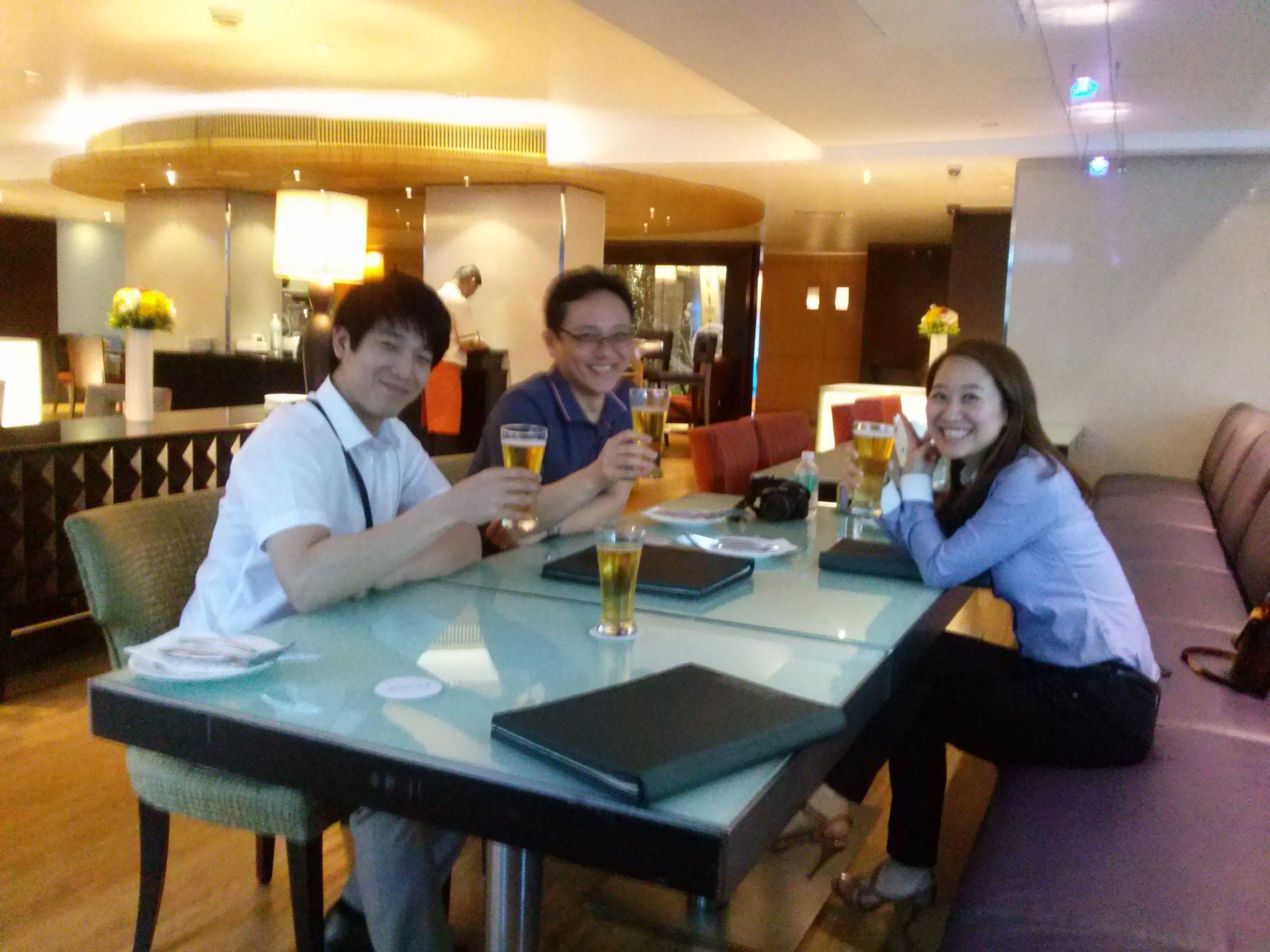 First Dinner In Bangkok