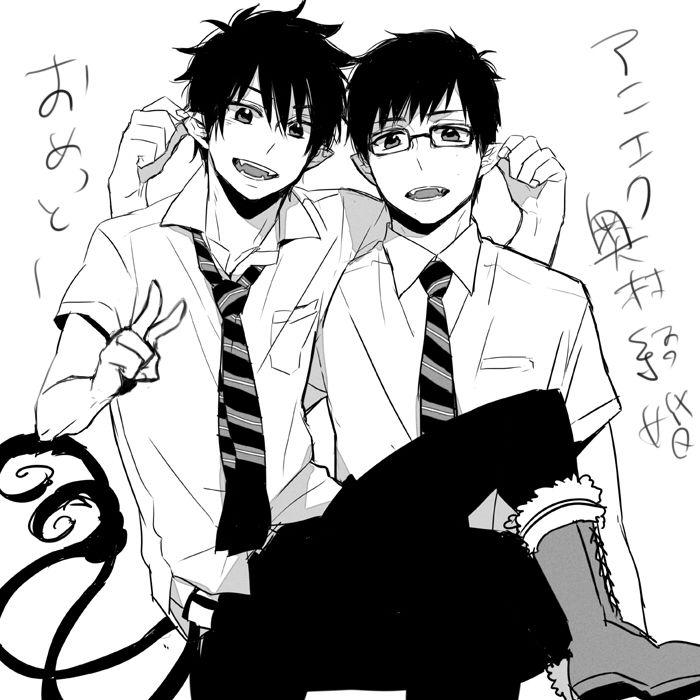 Ao no Exorcist | Rin + Yukio | Anime | Blue exorcist, Ao no