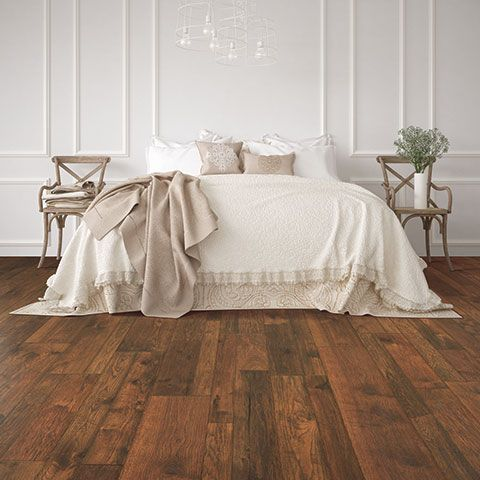 Hillcrest Hickory Laminate Floor Natural Wood Look 12mm Thick 1