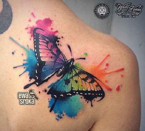 Atemberaubende Aquarelle mit Ewa Sroka | Tattoo Ideas ...