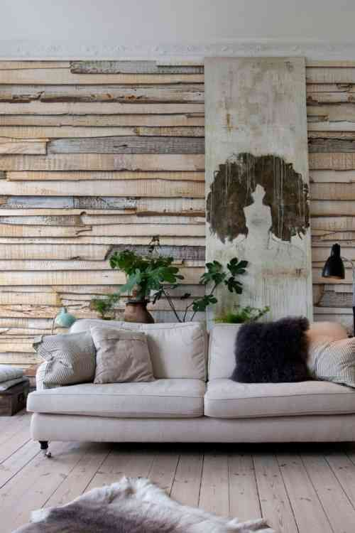 45 Idees De Deco Murale En Papiers Peints Photos Incroyables Deco