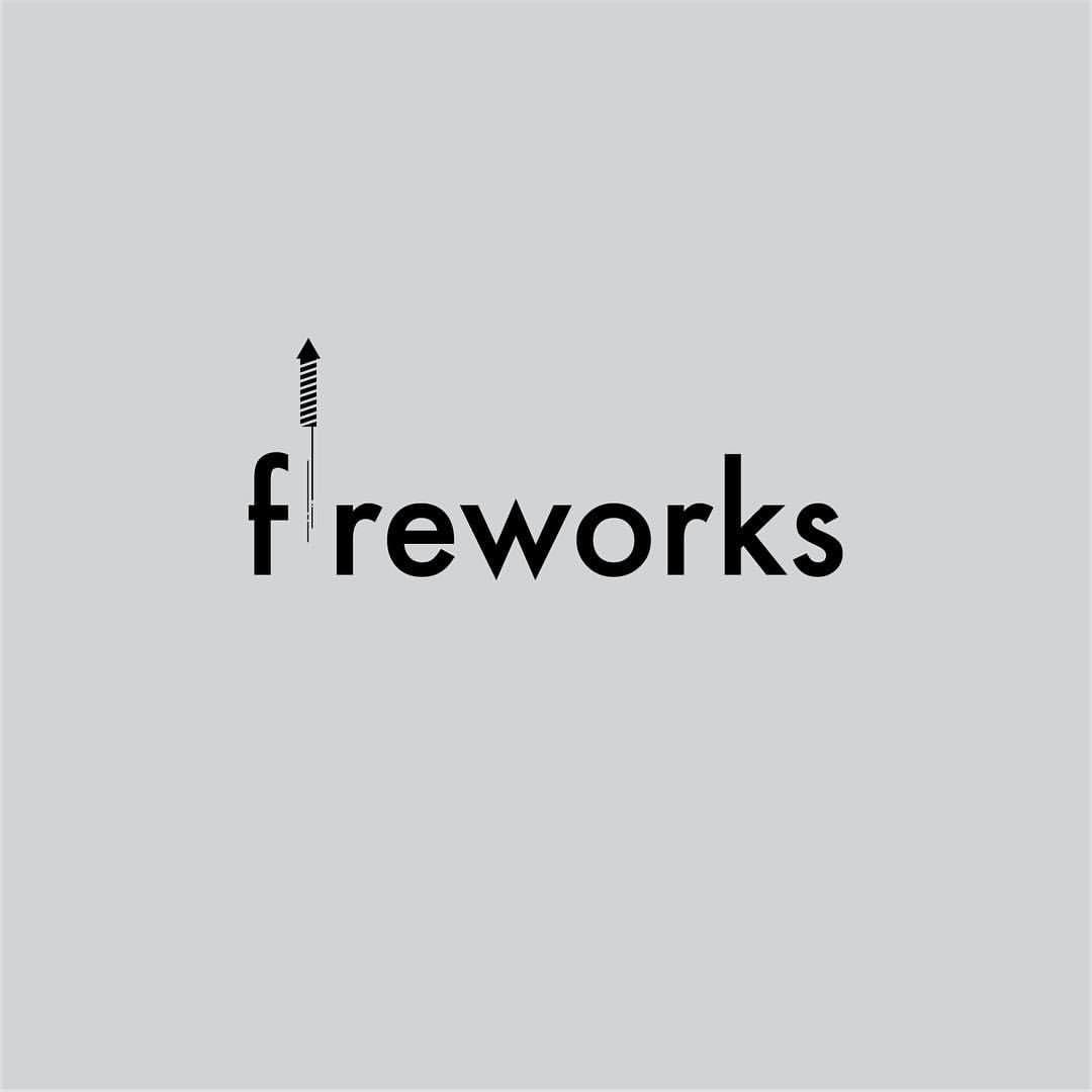 1064c602960 Fireworks 58 365  logo  logotype  logoinspirations  logodesign  logonew   logodaily