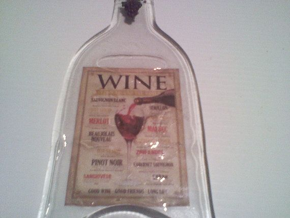 Wine Lover  Melted wine bottle melted and made by Collectivekayos, $15.00