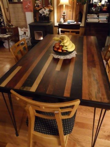 Dining Table Made From Barn Siding From The 1800 S By Nicholas