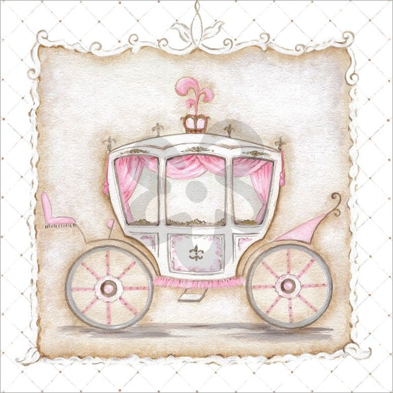 Little Princess Carriage III Prince u0026 Princess Canvas Wall Art | Oopsy daisy  sc 1 st  Pinterest & Little Princess Carriage III Prince u0026 Princess Canvas Wall Art ...
