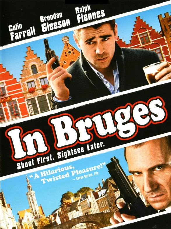 In Bruges - featuring Colin Farrell and Brendan Gleeson #GangsterMovie #GangsterFlick