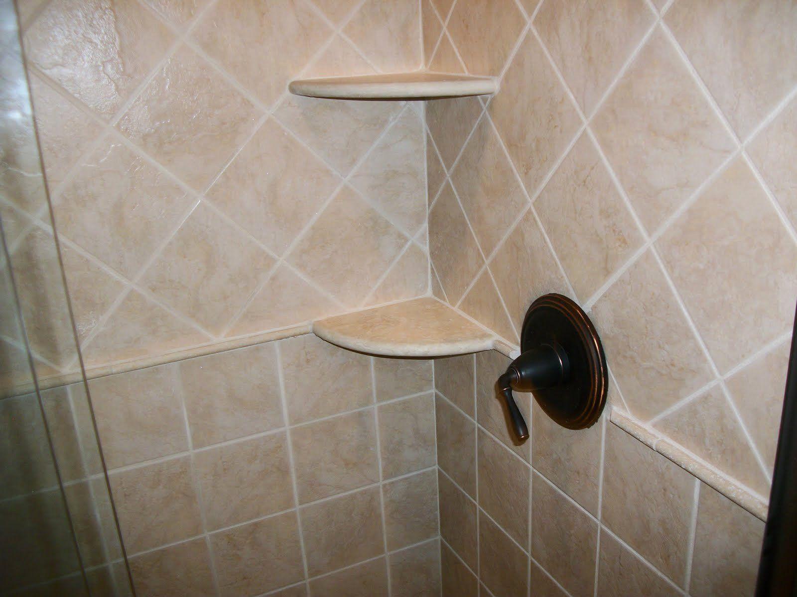 24 Bathroom Corner Shelf Ideas in 2020 | Shower tile ...