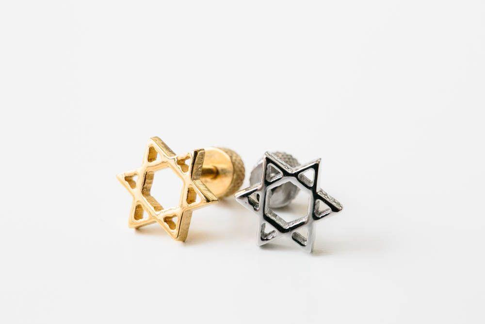 Hexagon star piercing