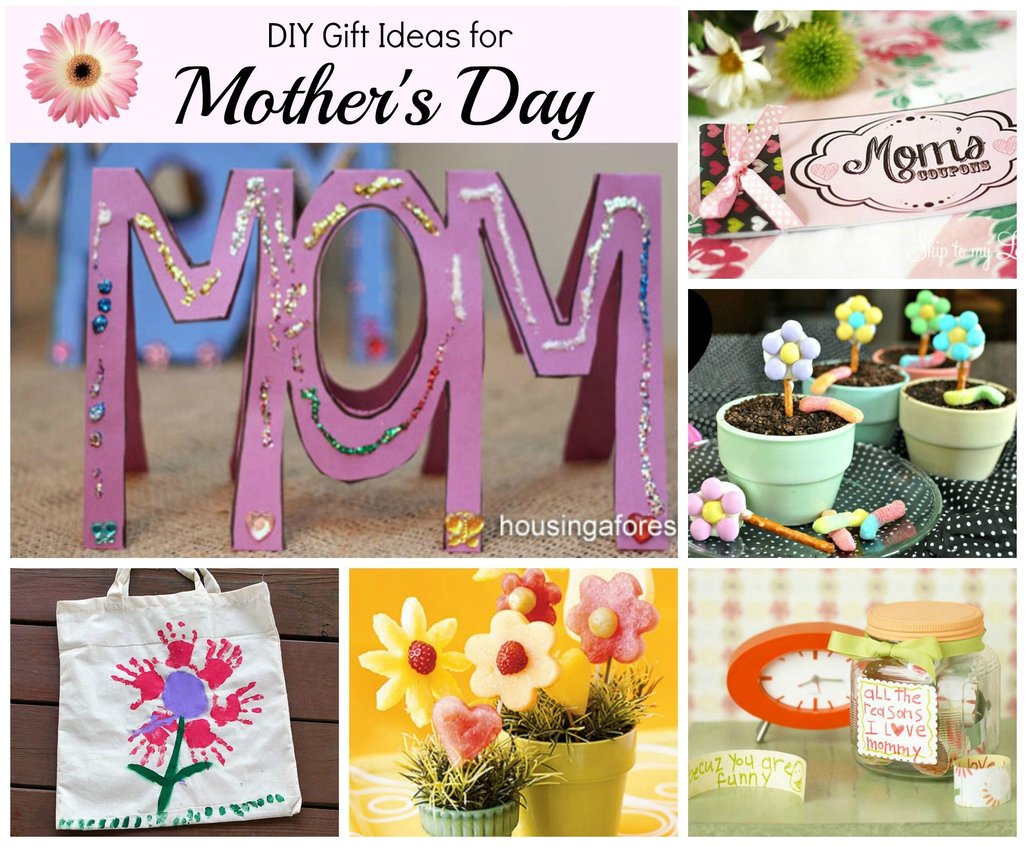 top mother day gift ideas for 2018 | mother's day projects