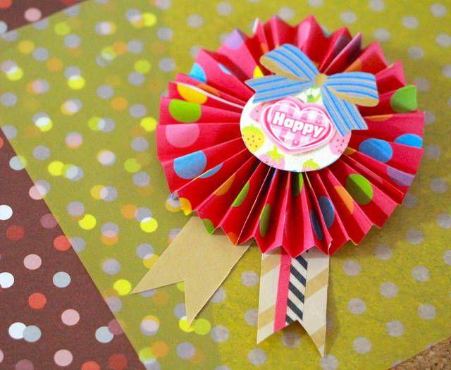 折り紙 ロゼット 結婚式