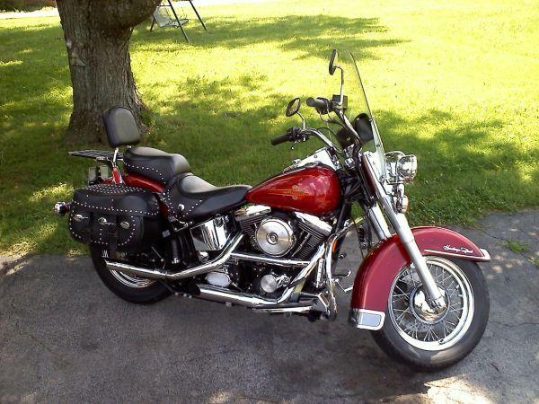 93 Harley Davidson Heritage Softail Classic Harley Davidson Harley Motorcycle Harley