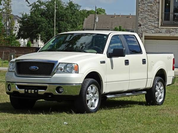 http://bit.ly/PASV_income 08 FORD F150 LARIAT CREW CAB 4X4 1 OWNER ACCIDENT FREE CARFAX CERT!!!! (HOUSTON TX) $15995 Hello and Welcome to another premium listing brought to you by Car Cafe. Up for sale is an Xtra Clean Very Nice Rust Free1 Owner ACCIDENT FREE! 2008 Ford F150 Lariat Crew Cab 4X4 with the 5.4L Triton Engine. This F150 is in top condition inside an [...]