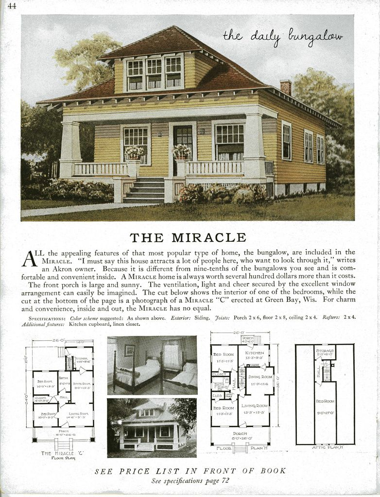 Sterling Kit House The Miracle Craftsman Bungalows Craftsman House Vintage House Plans