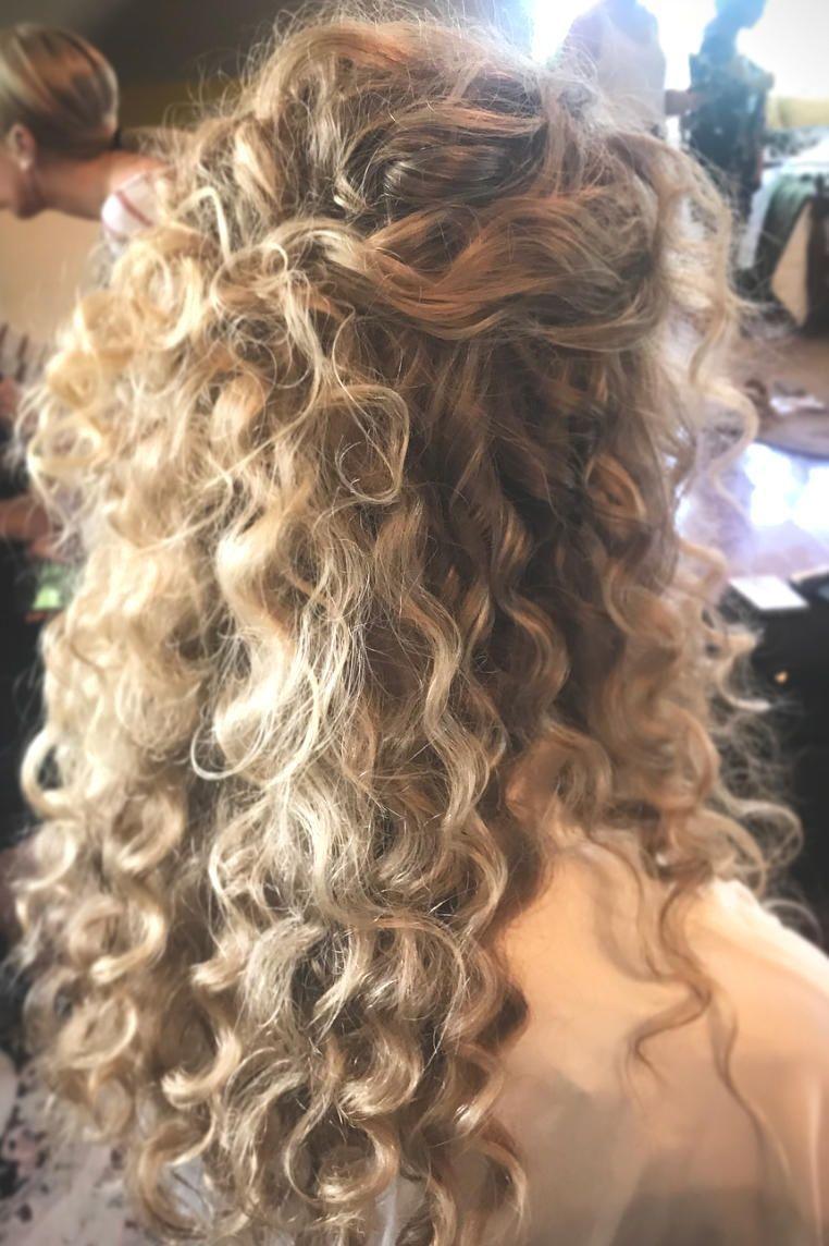 Agreeable Curly Haar Frisuren Hochzeitsfrisuren Lockiges Haar