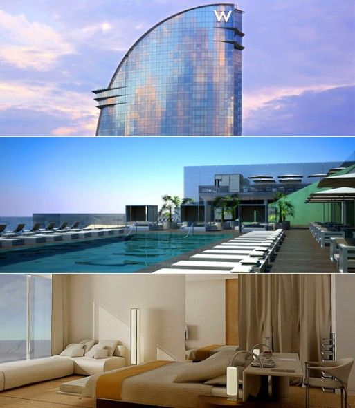 Hotel W Barcelona Oh, the places I will go Pinterest Buckets - hotel barcelone avec piscine sur le toit