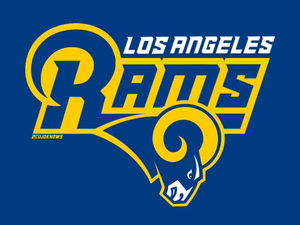 Los Angeles Rams Los Angeles Rams Logo Los Angeles Rams La Rams