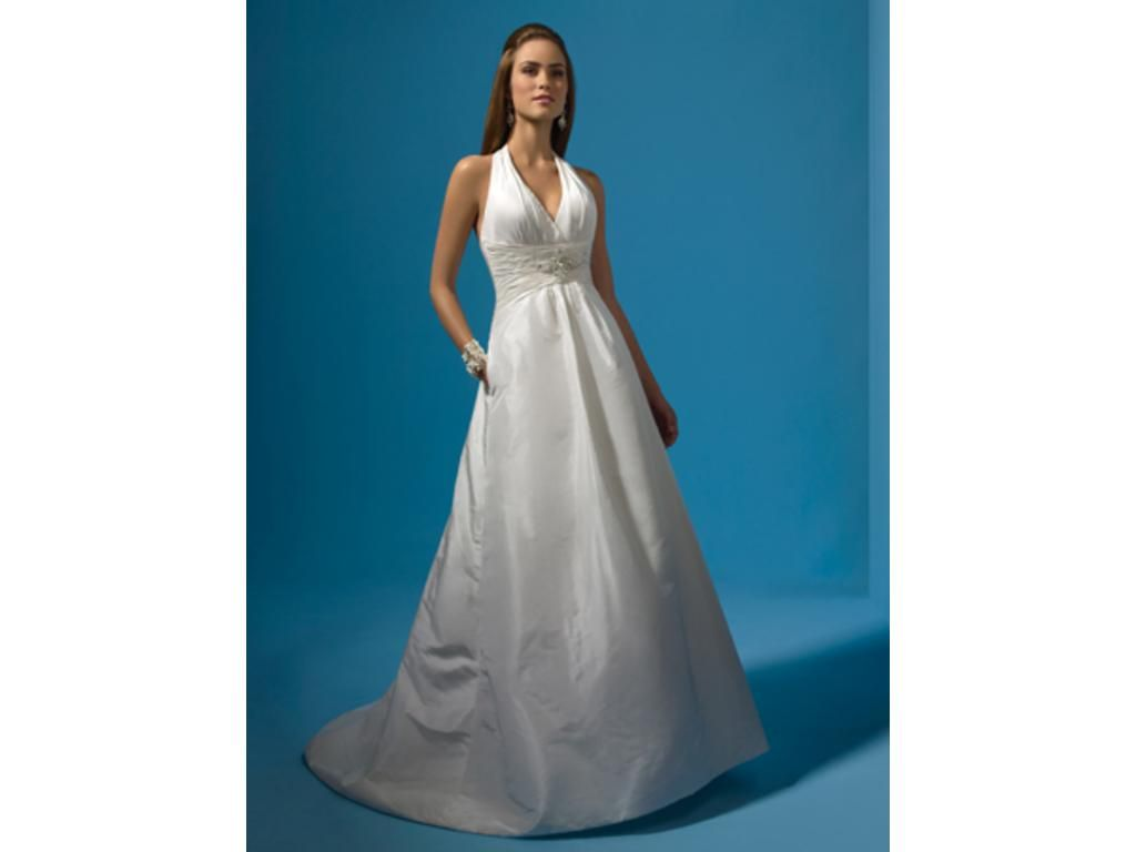Alfred Angelo 2121 white size 8 $399 | IDoTheDressIDo Wedding Dress ...