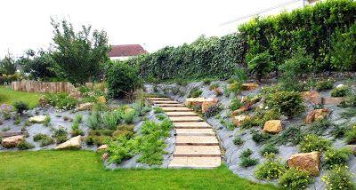 Technique Amenagement D Un Jardin Avec Talus Paysagiste